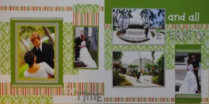 For Time and All Eternity Wedding Layout