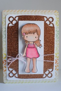 """Sugarplums Summer Emma"" Card"