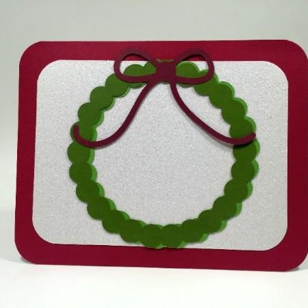 Wreath Card Example