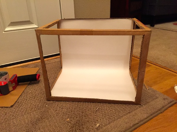 DIY Photography Lightbox