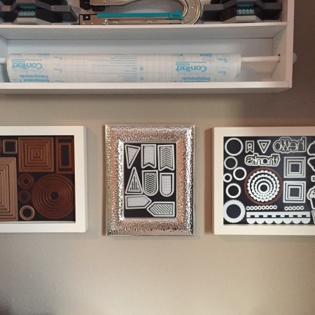 How to Store Wafer Thin Dies in A Picture Frame
