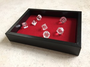 DIY Felt-Lined Dice Box