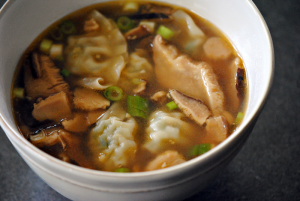 Gingery Wonton Soup Recipe