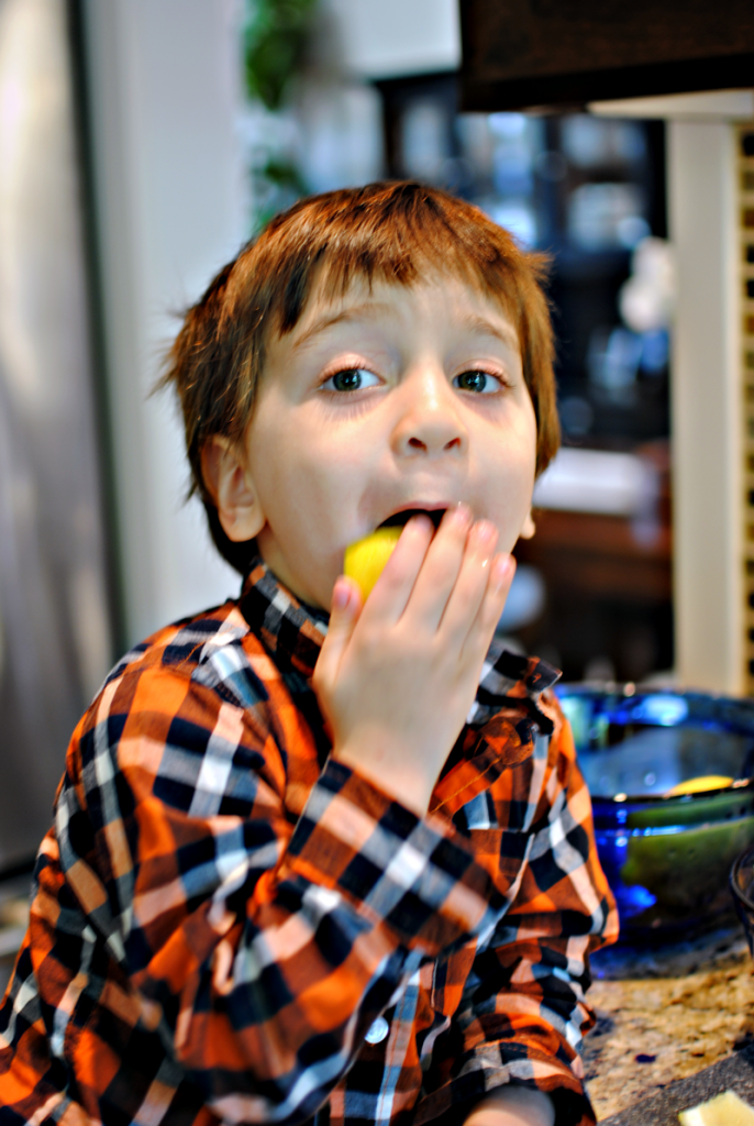 Jack Licking Lemons